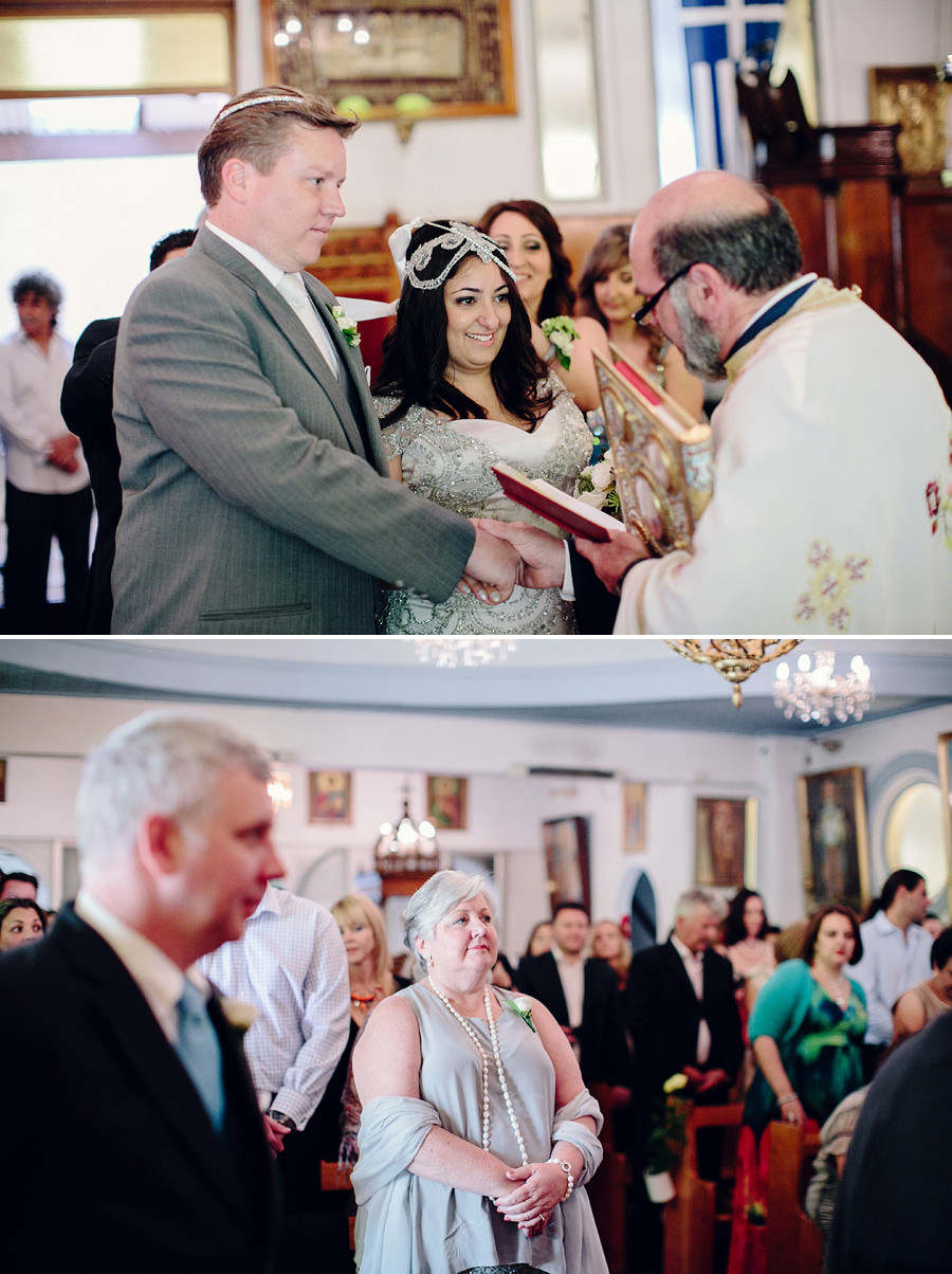 Orthodox Wedding Photography: Walking around altar