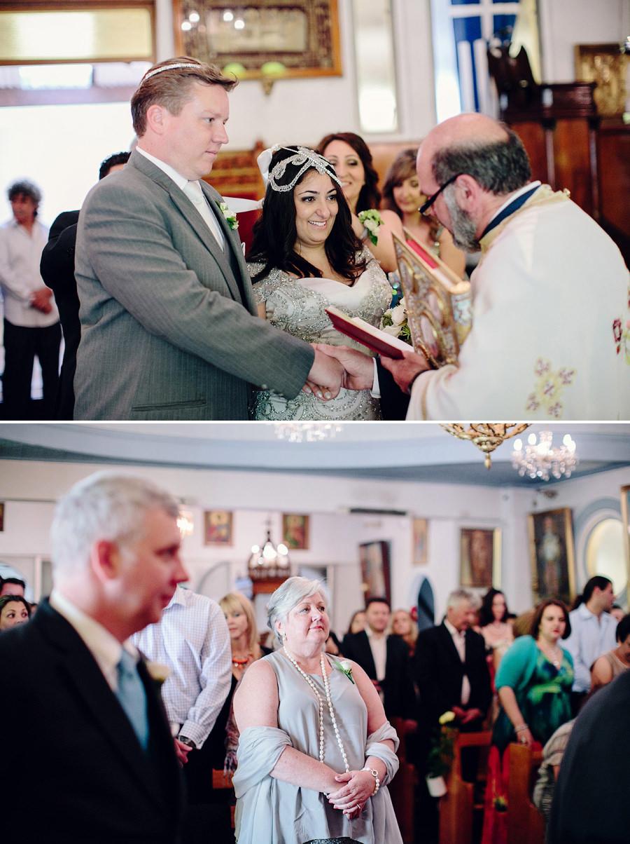 Orthodox Wedding Photography: Walking around altar
