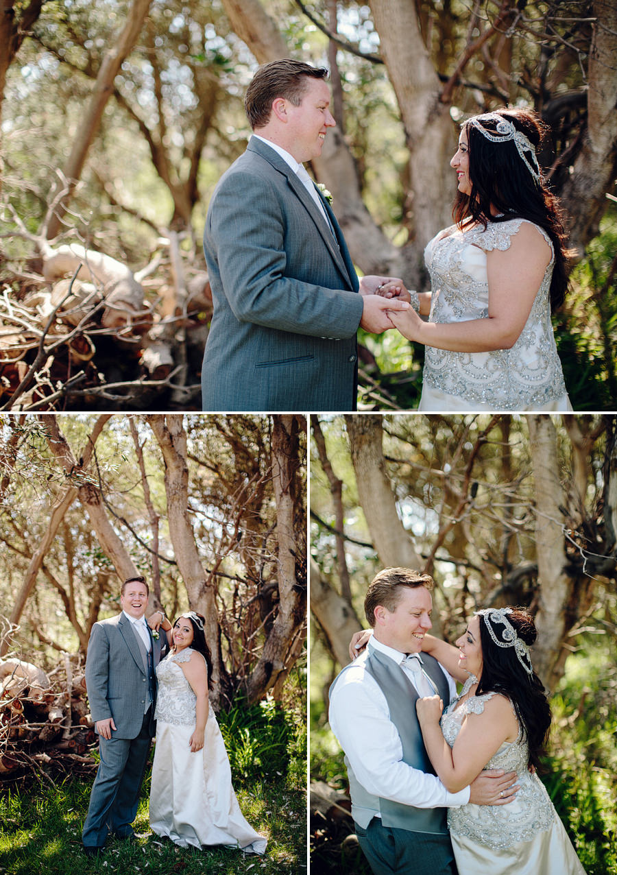 Gap Bluff Wedding Photographer: Bride & Groom