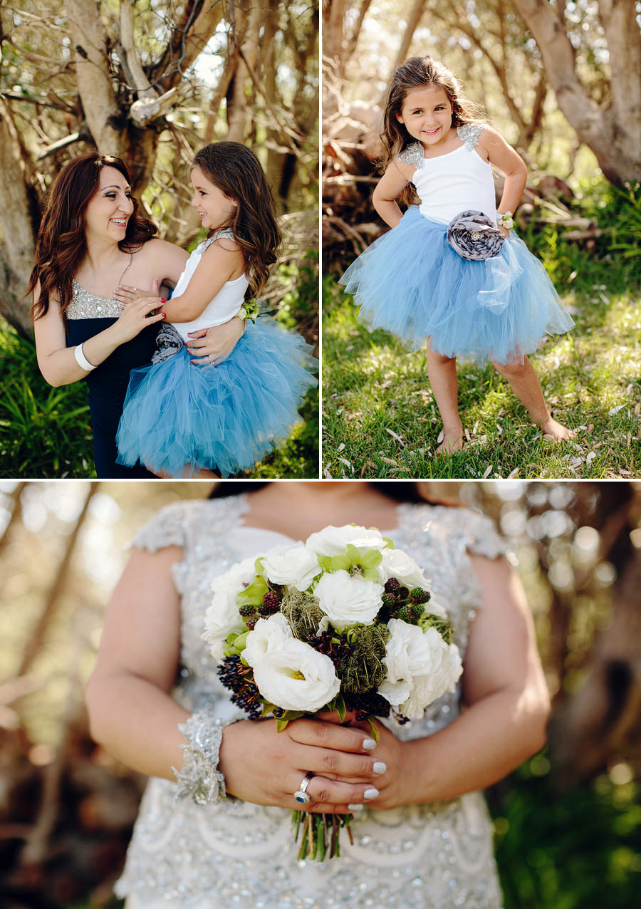 Sydney Wedding Photographer: Adorable flower girl