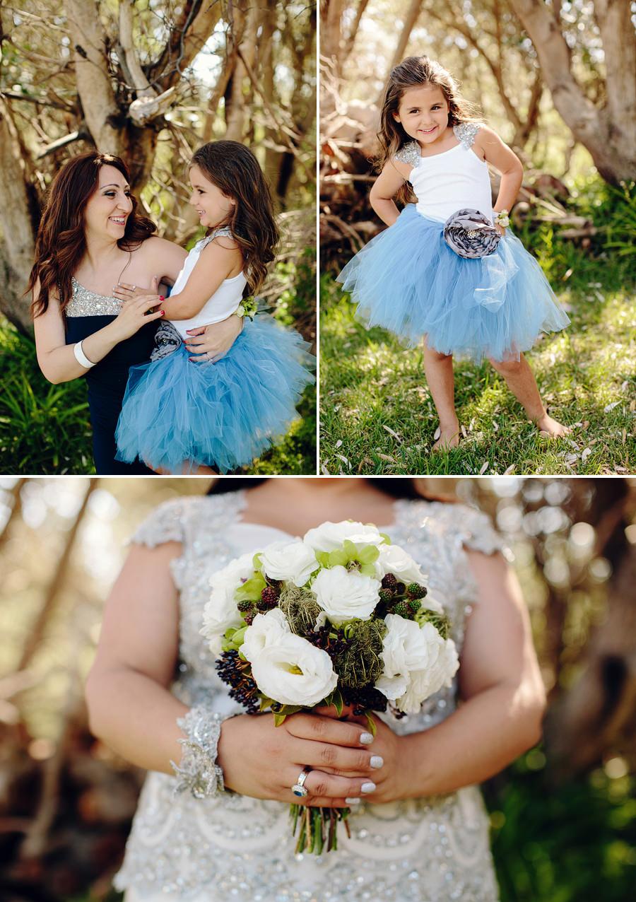 Sydney Wedding Photographer: Adorable flower girl