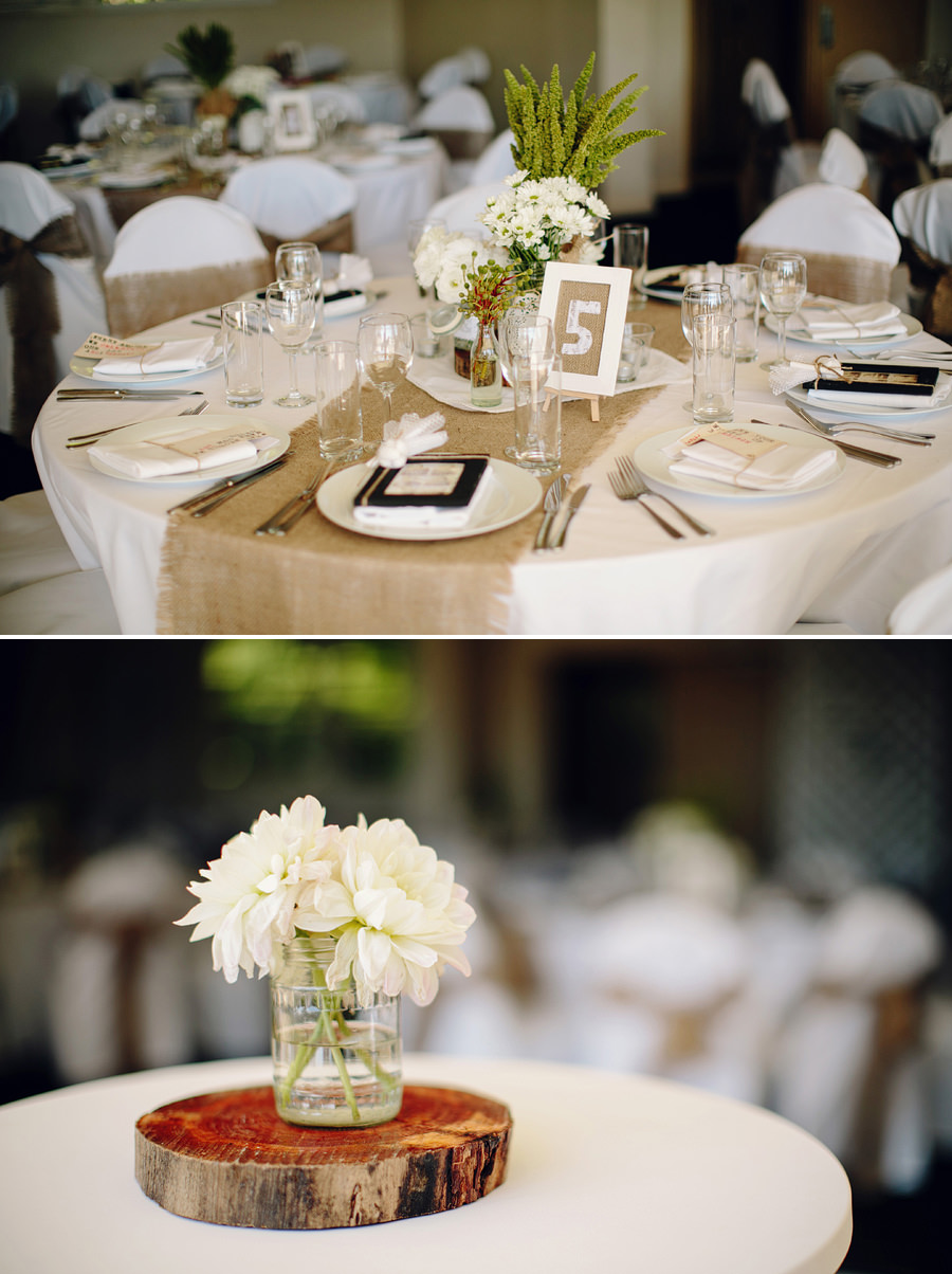 Vintage Wedding Photography: Table settings