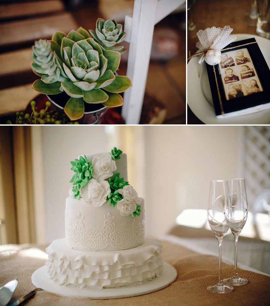 Rustic Wedding Photograper: Wedding cake