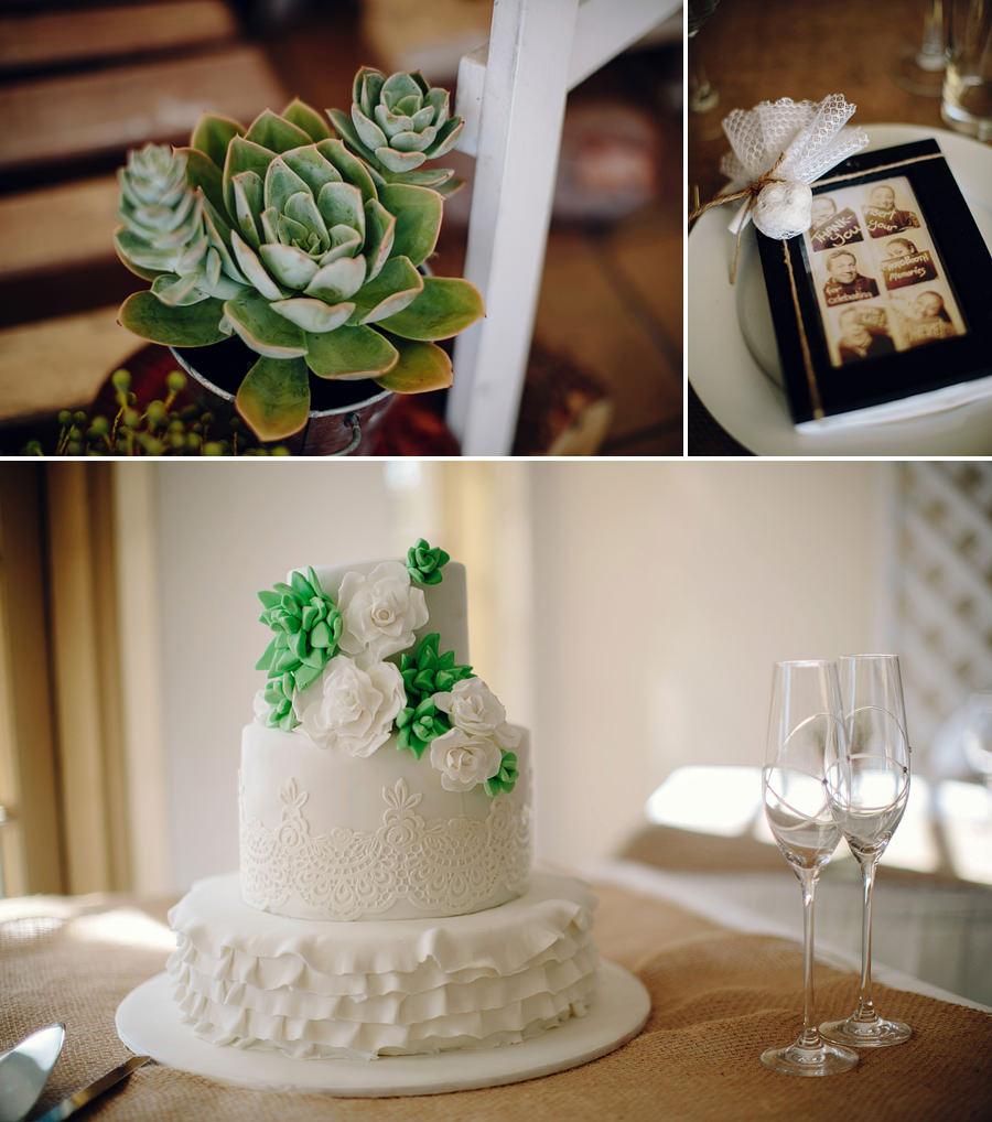 Rustic Wedding Photograper: Wedding cake