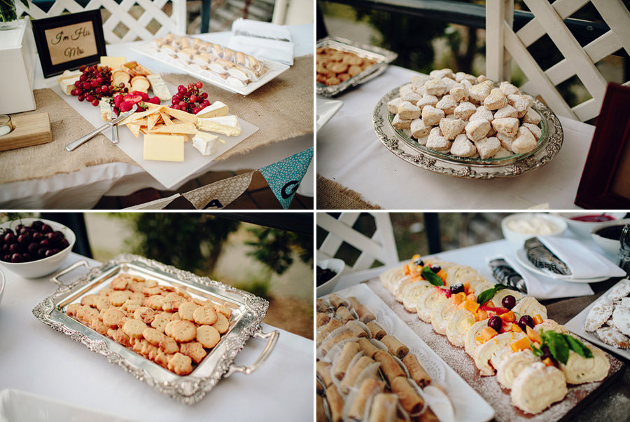 Greek Wedding Photographer: Dessert bar