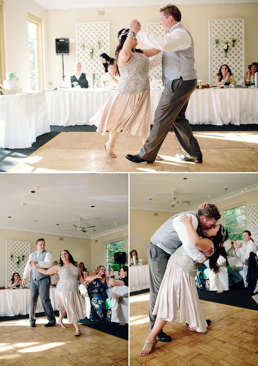 Contemporary Wedding Photographer: First dance