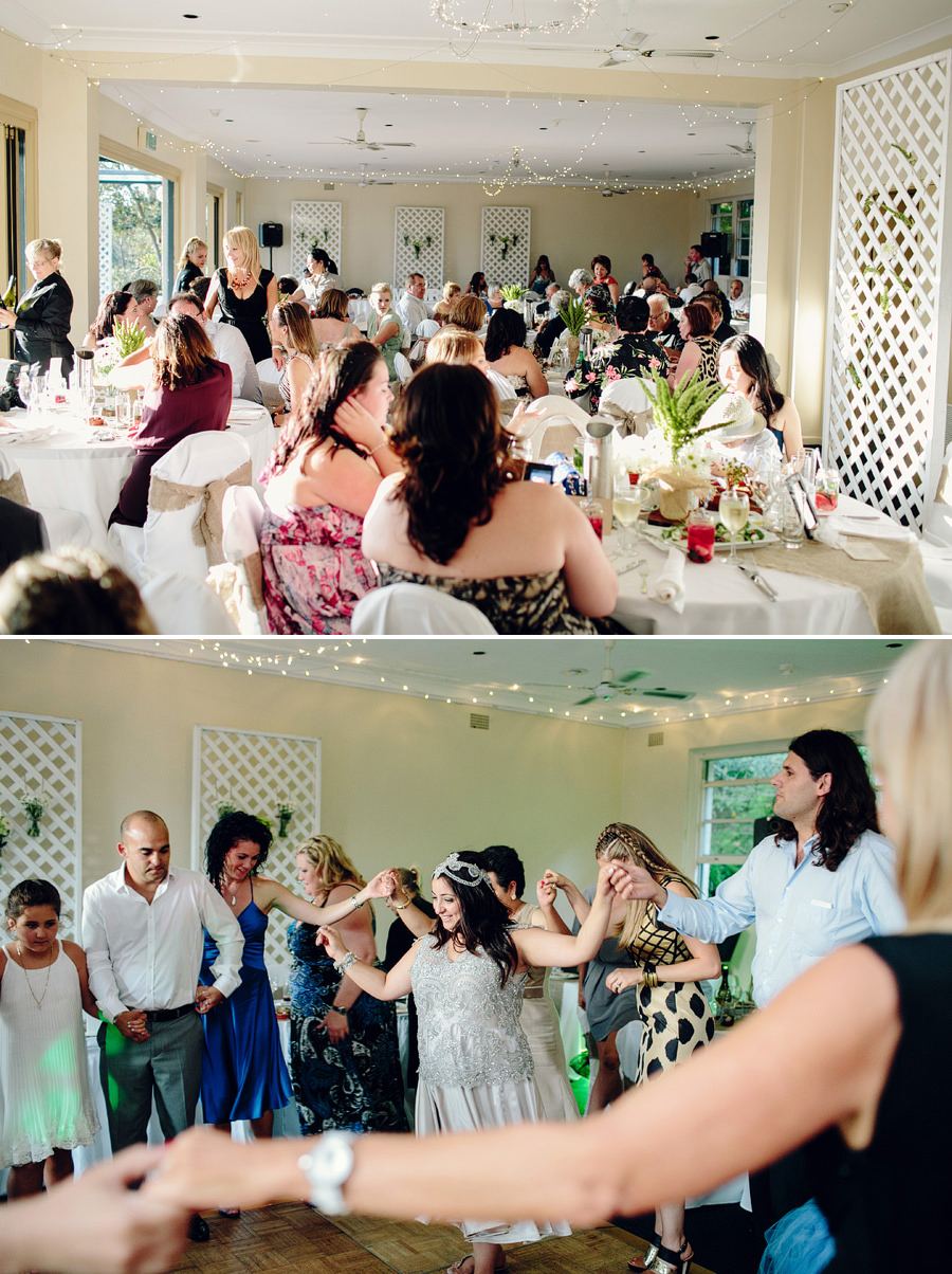 Contemporary Wedding Photography: Greek dancing