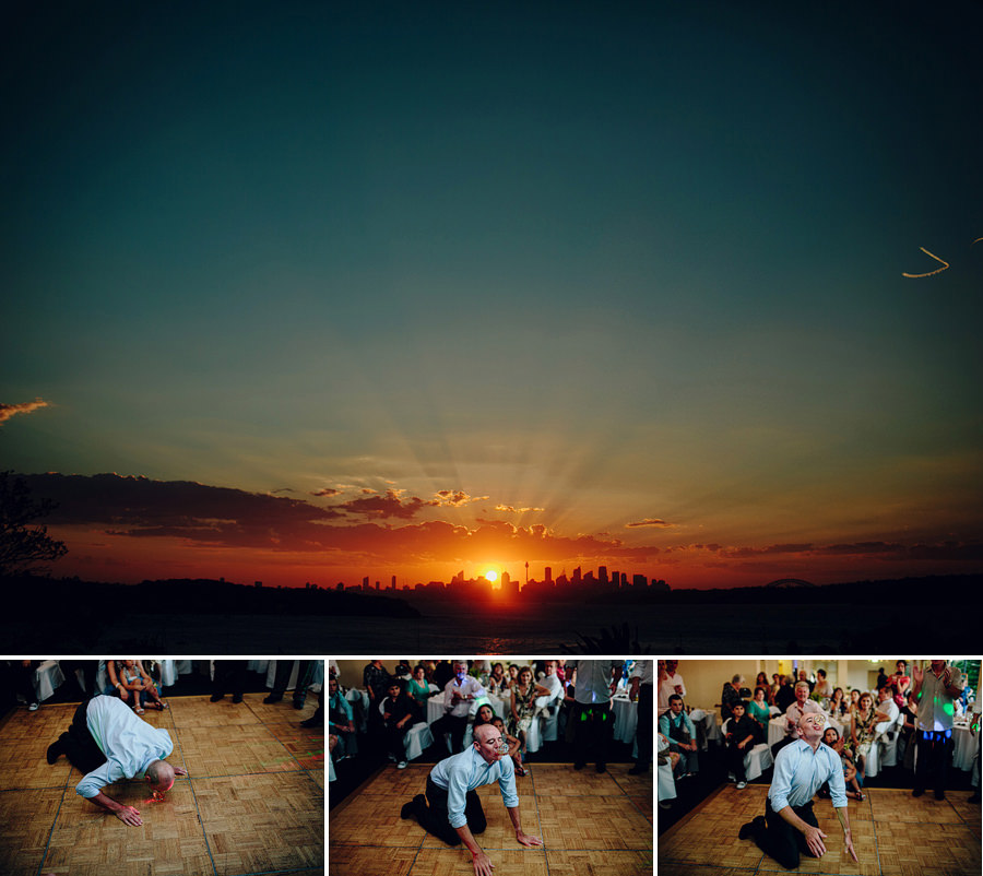Sydney Wedding Photographer: New Years Eve sunset