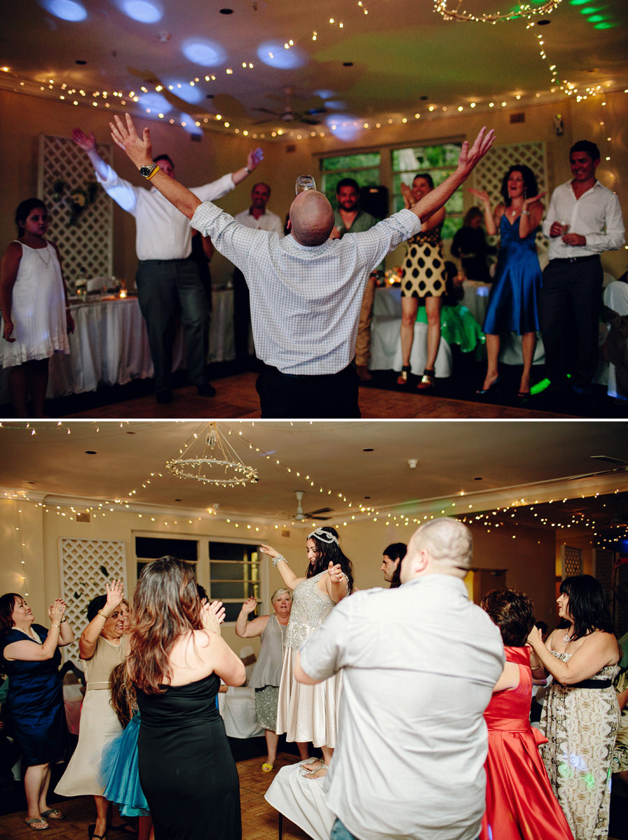 Fun Wedding Photographer: Bride dancing on chair