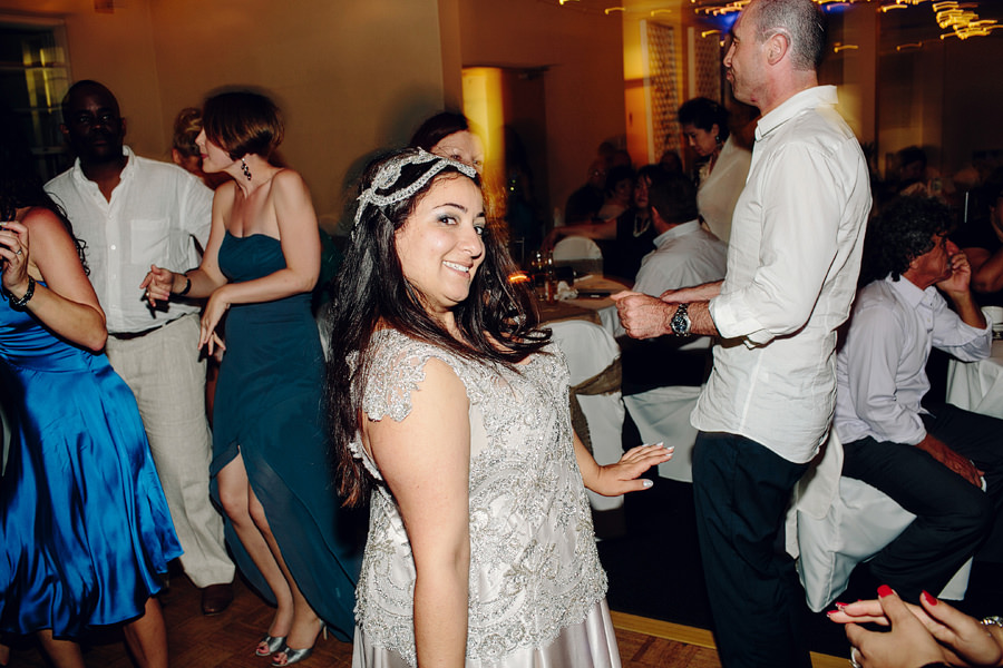 Sydney Wedding Photography: Bride on Dancefloor