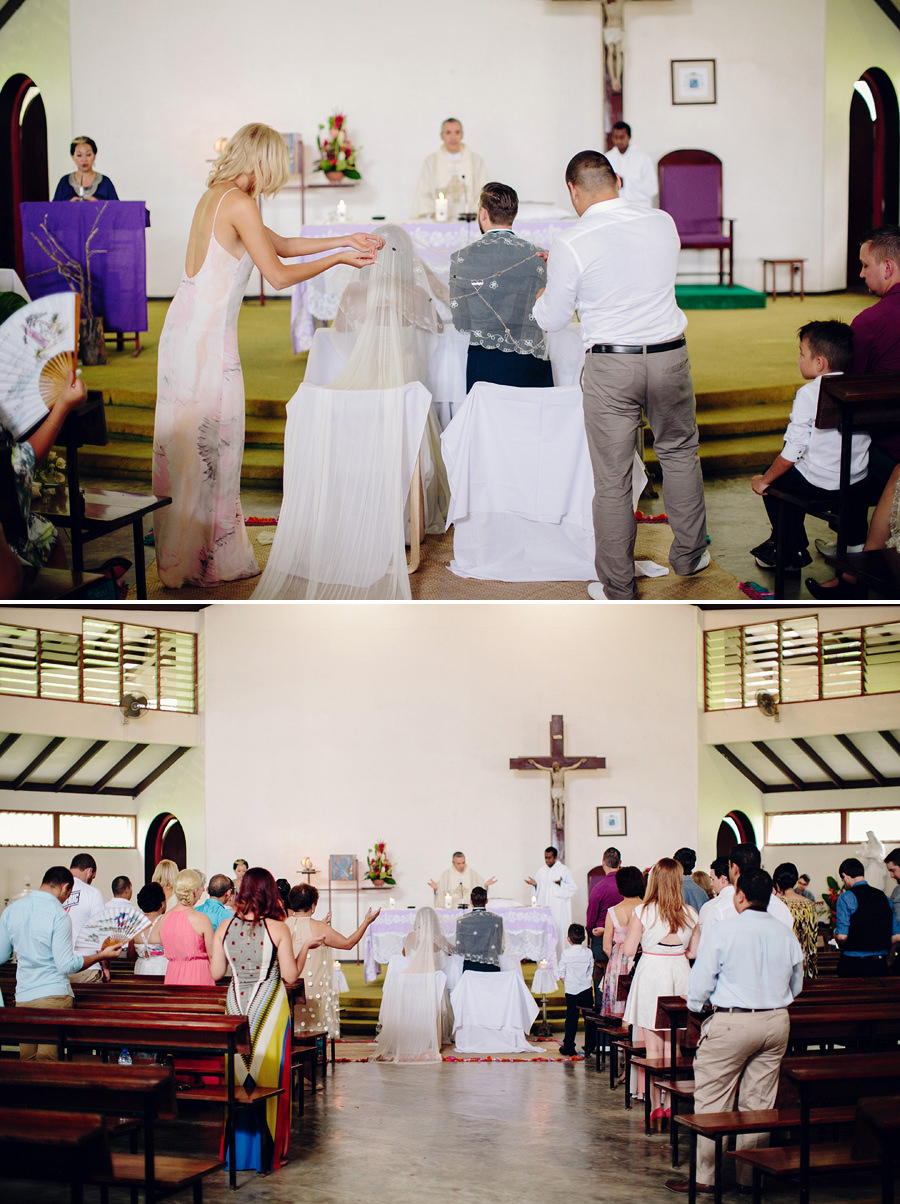 Catholic Wedding Photographers: Blessing