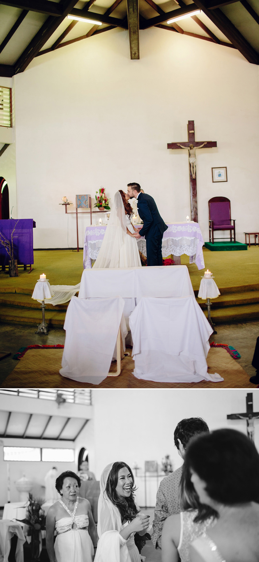 Catholic Wedding Photography: Kiss the bride