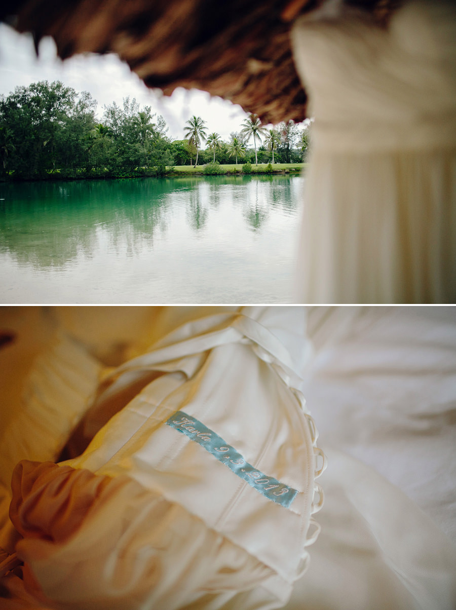 Destination Wedding Photographers: Dress details