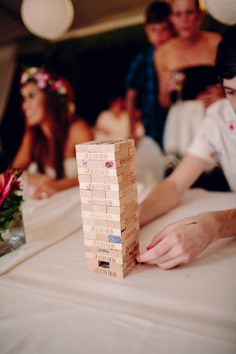 Fun Wedding Photographers: Wedding Jenga