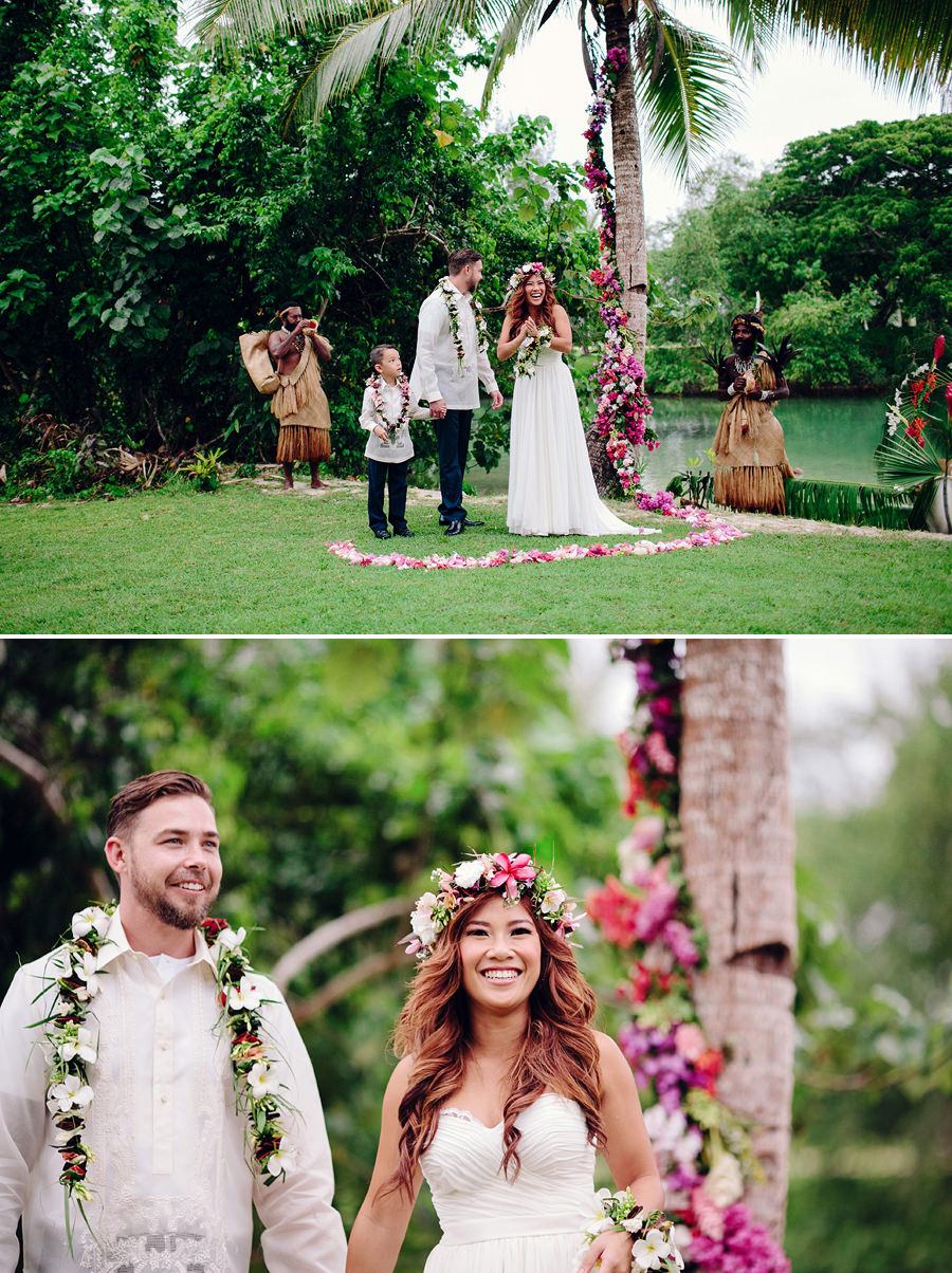 Holiday Inn Port Vila Vanuatu Wedding Photographer: Ceremony
