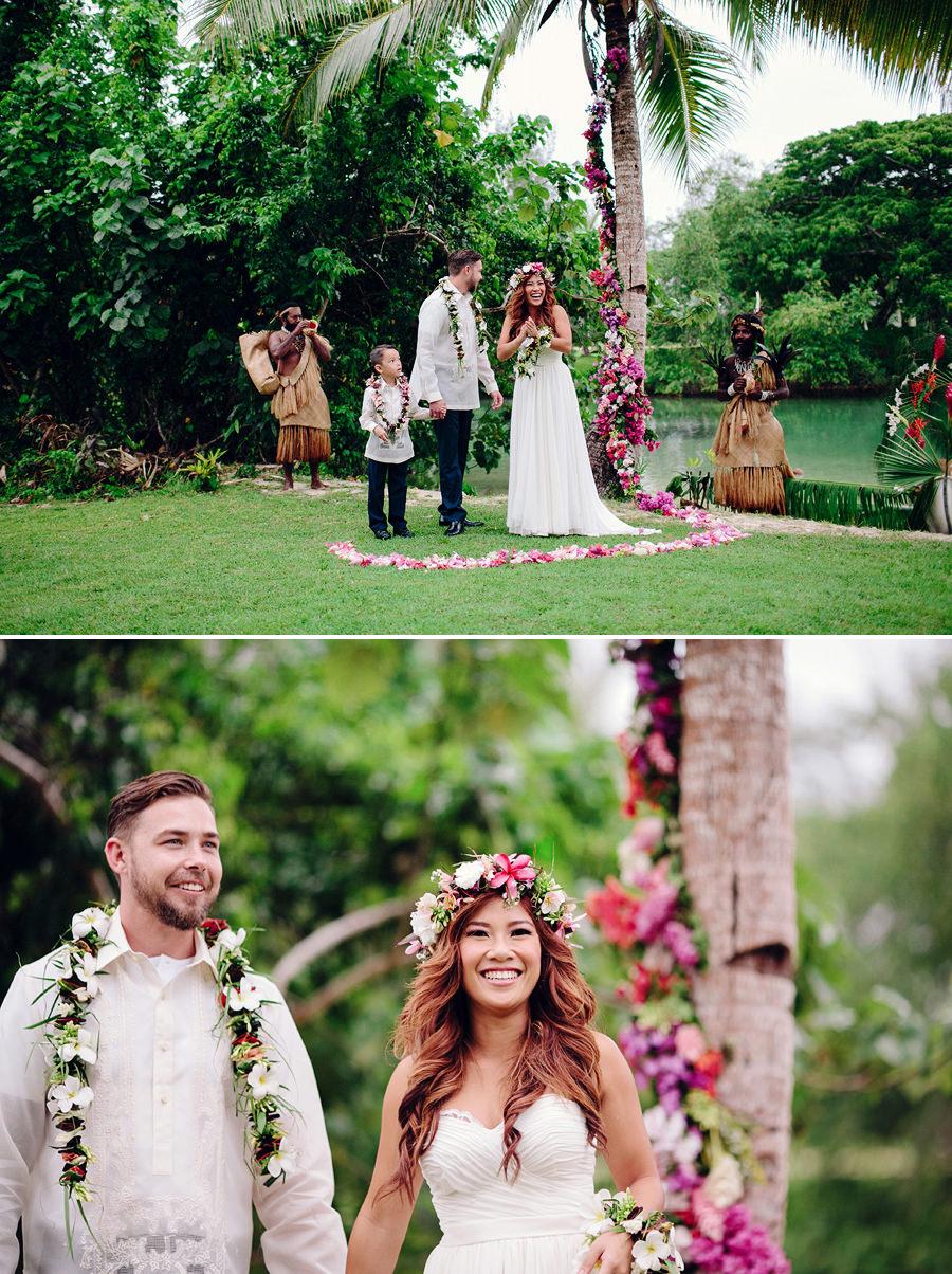 Holiday Inn Port Vila Vanuatu Wedding Photographer: Ceremony