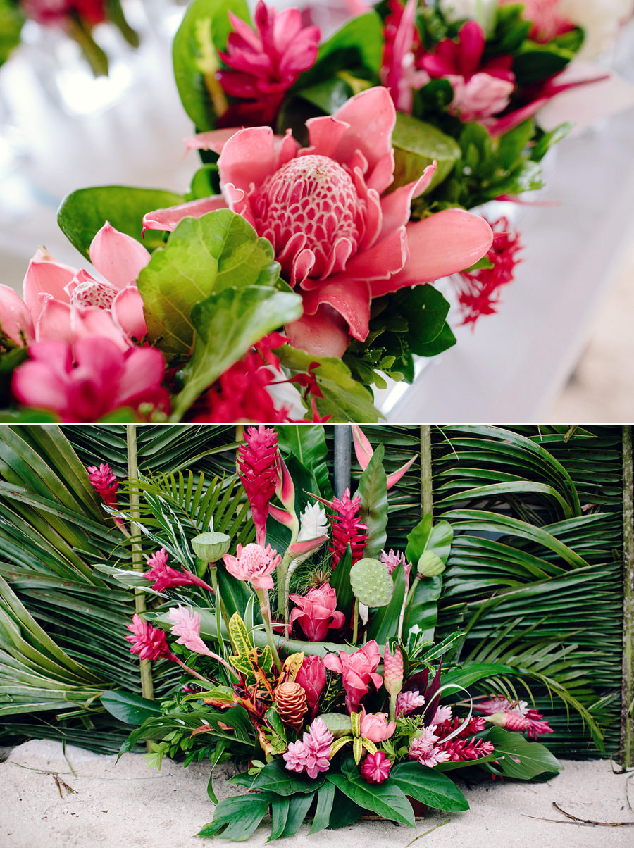 Holiday Inn Port Vila Vanuatu Wedding Photography: Reception details