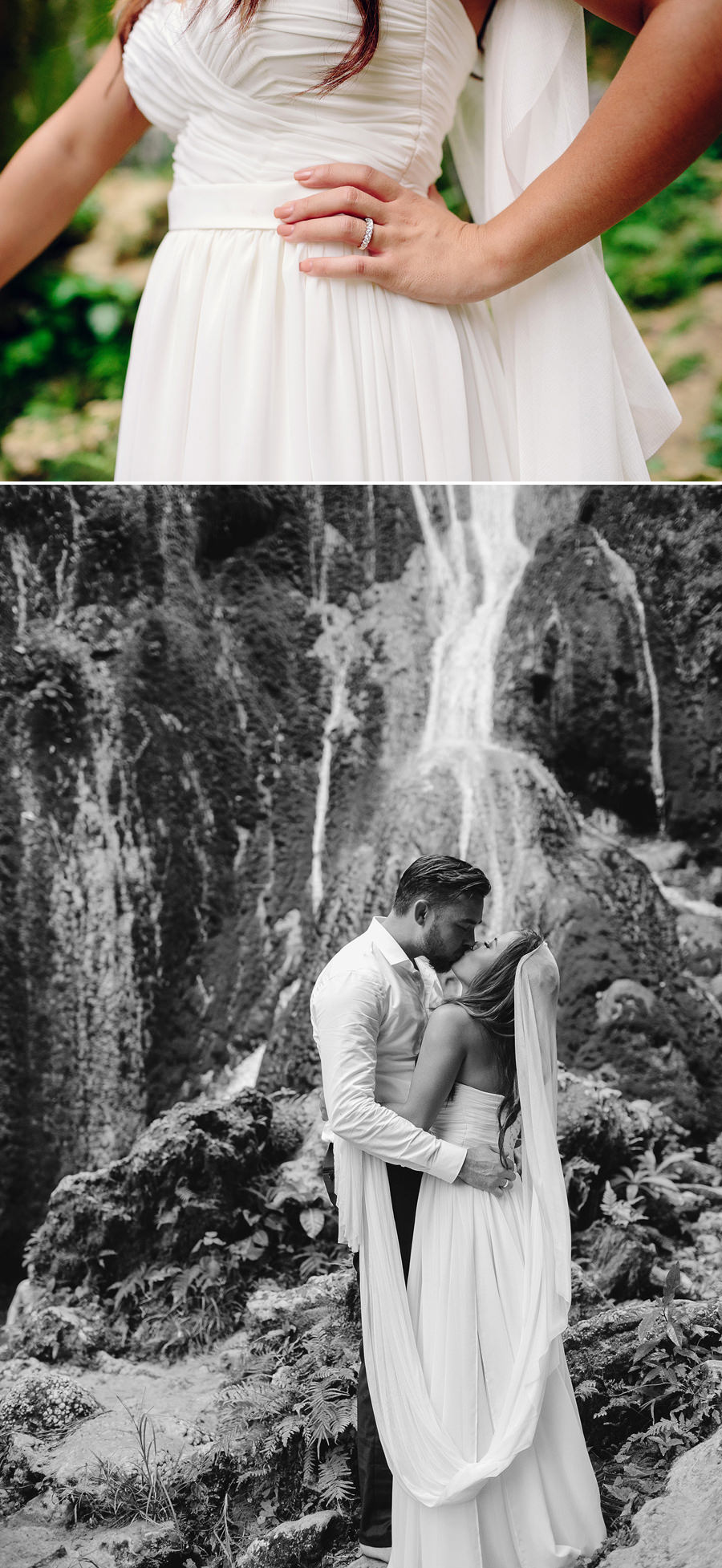 Mele Cascades Vanuatu Wedding Photography: Karla & Corey