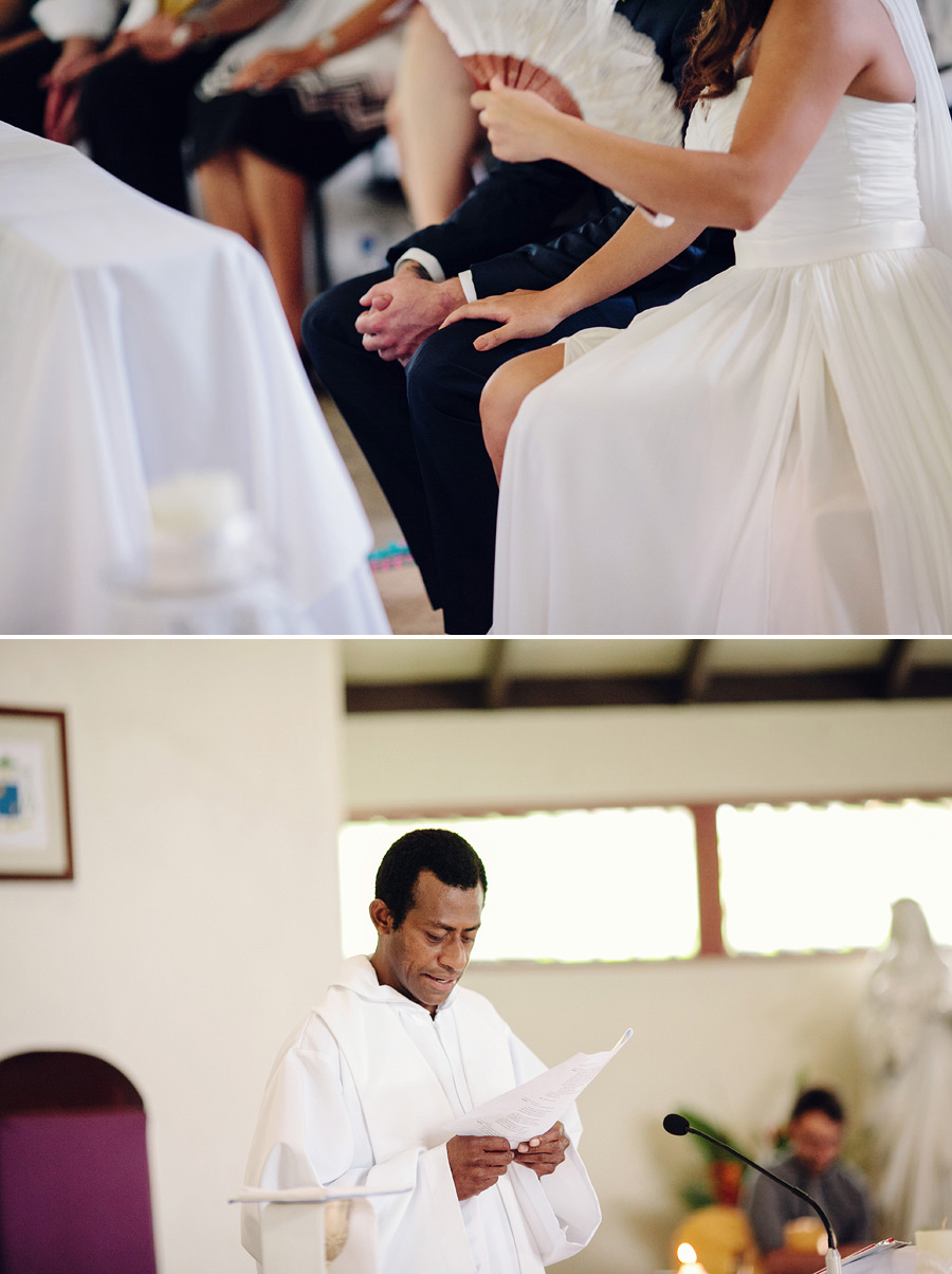 Port Vila Vanuatu Wedding Photography: Catholic ceremony