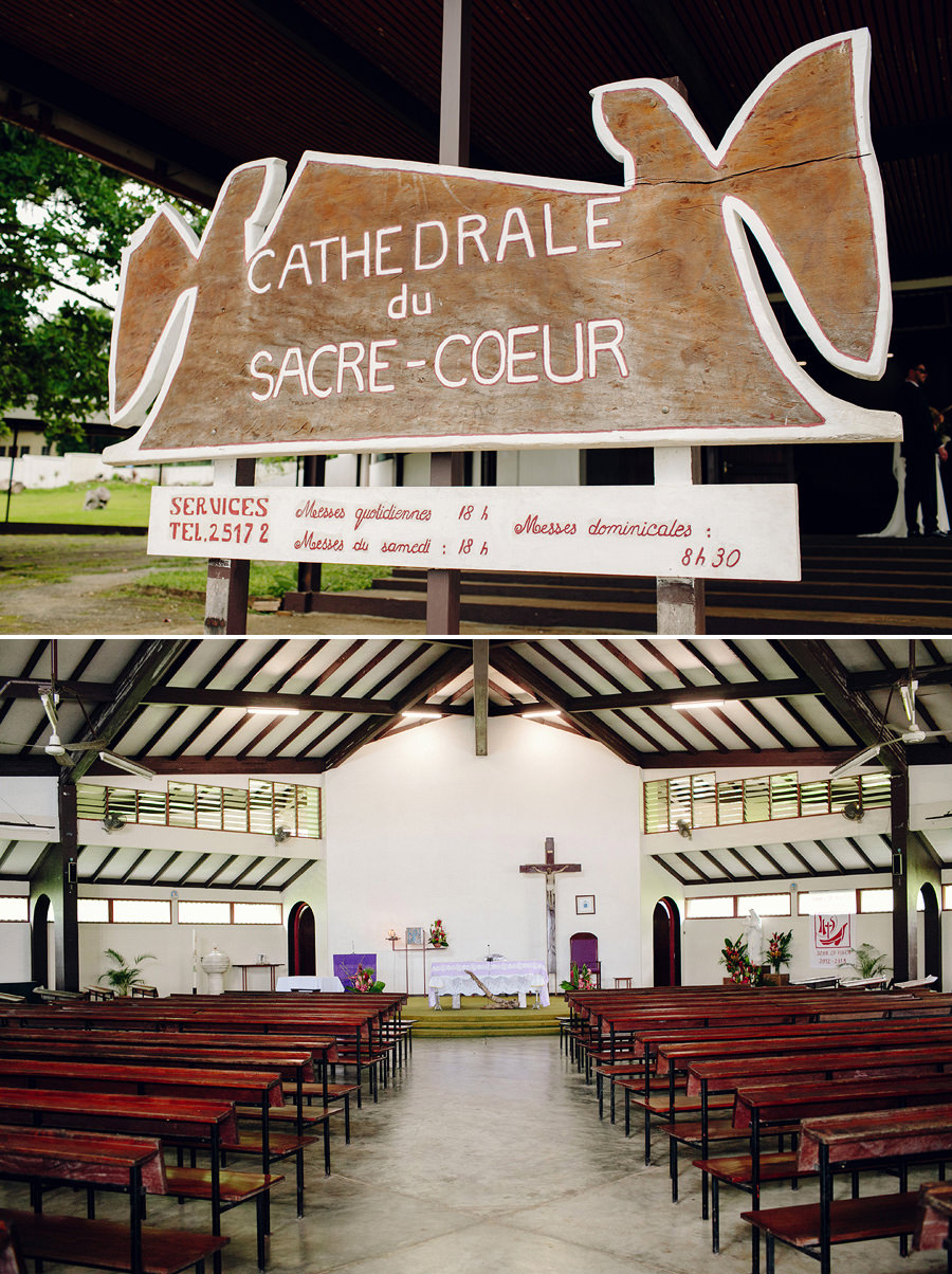 Port Vila Wedding Photographer: Cathedral details