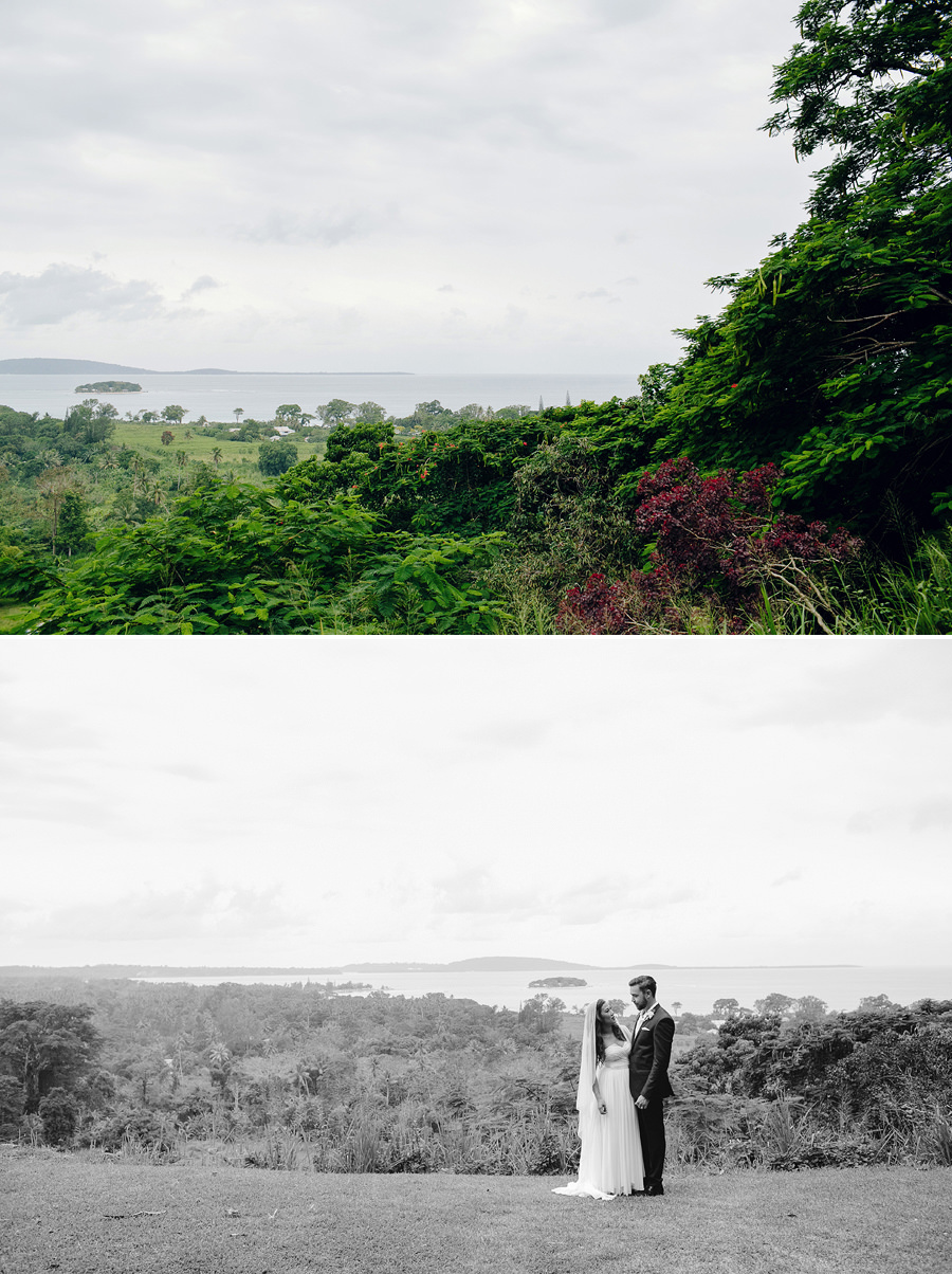 South Pacific Wedding Photography: Mele Bay