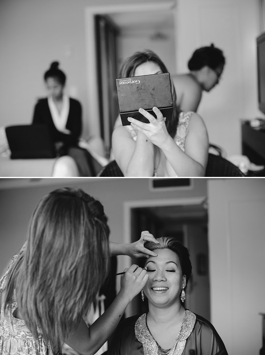 Vanuatu Destination Wedding Photography: Makeup