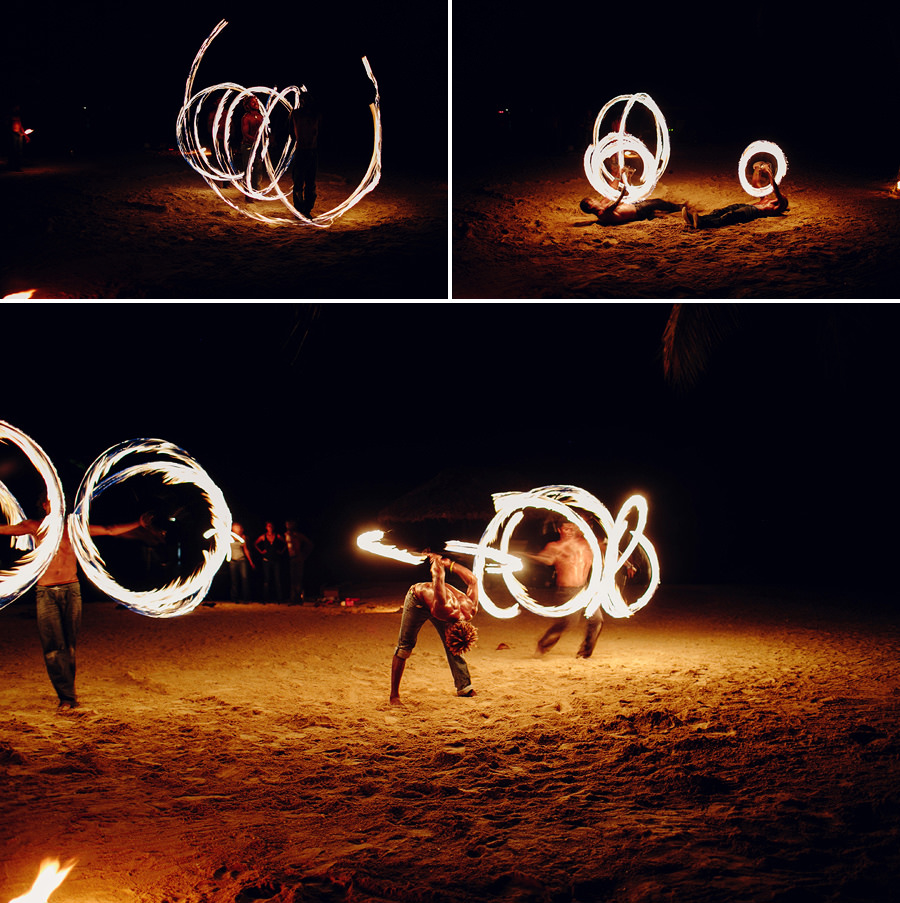 Vanuatu Fire Dance Photographers: Polynesian fire dance