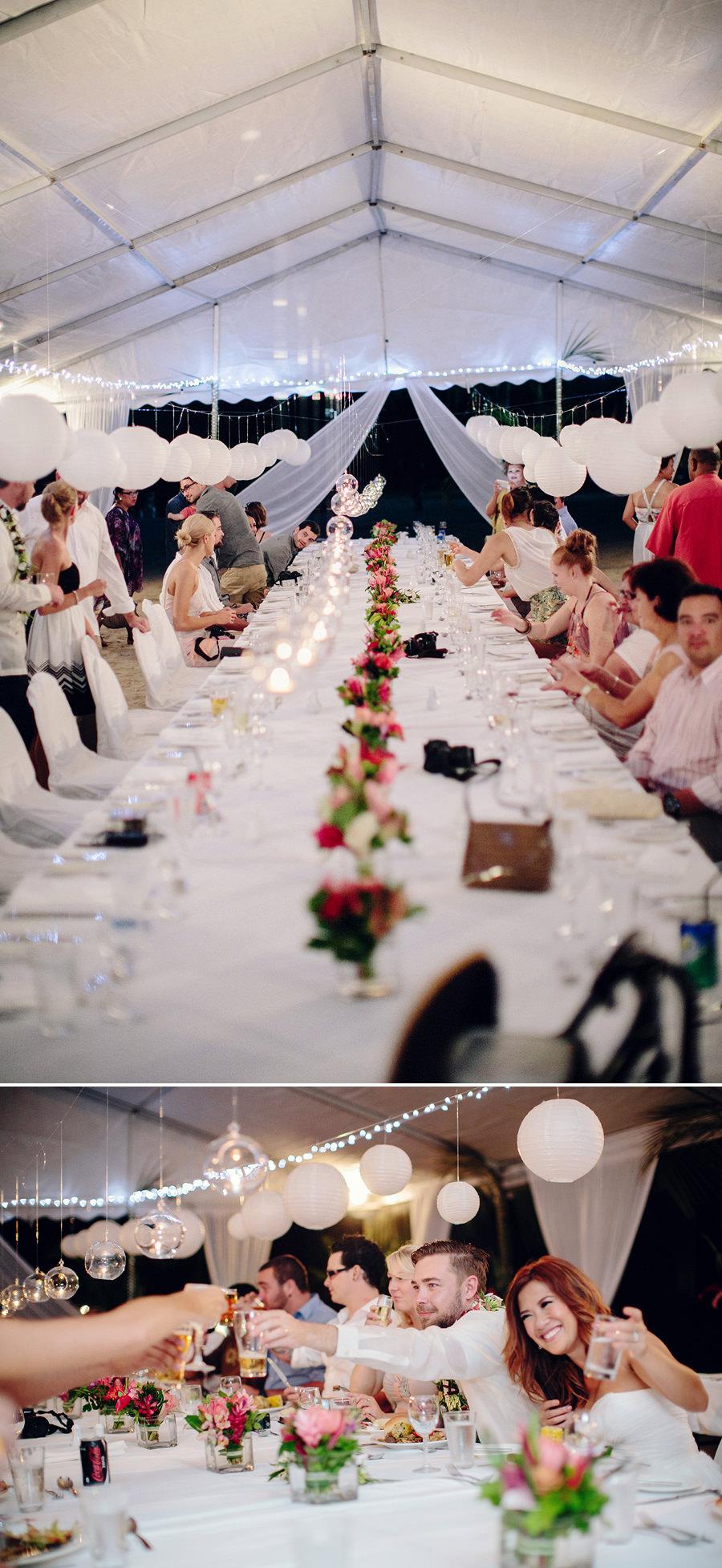Vanuatu Wedding Photographers: Reception