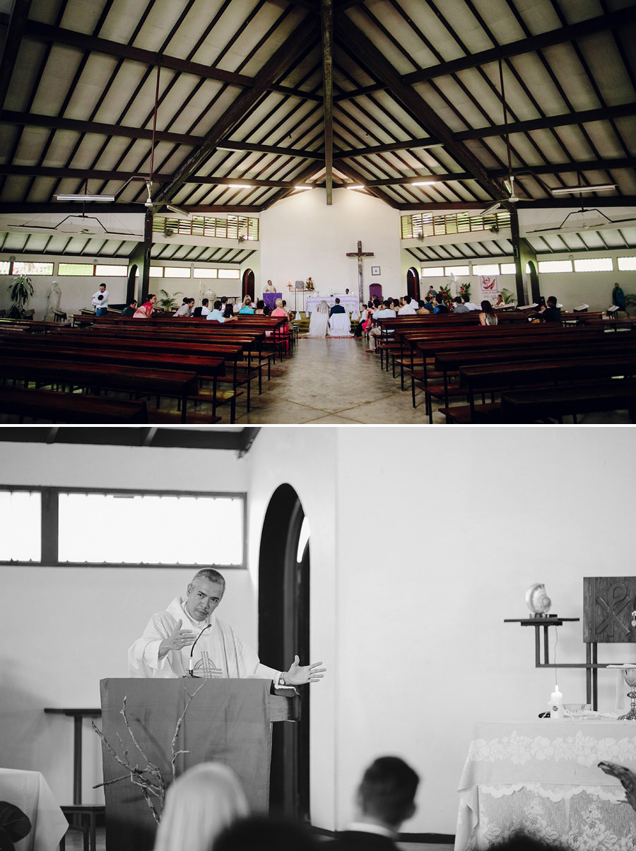 Wedding Photographer in Port Vila: Filipino catholic wedding ceremony