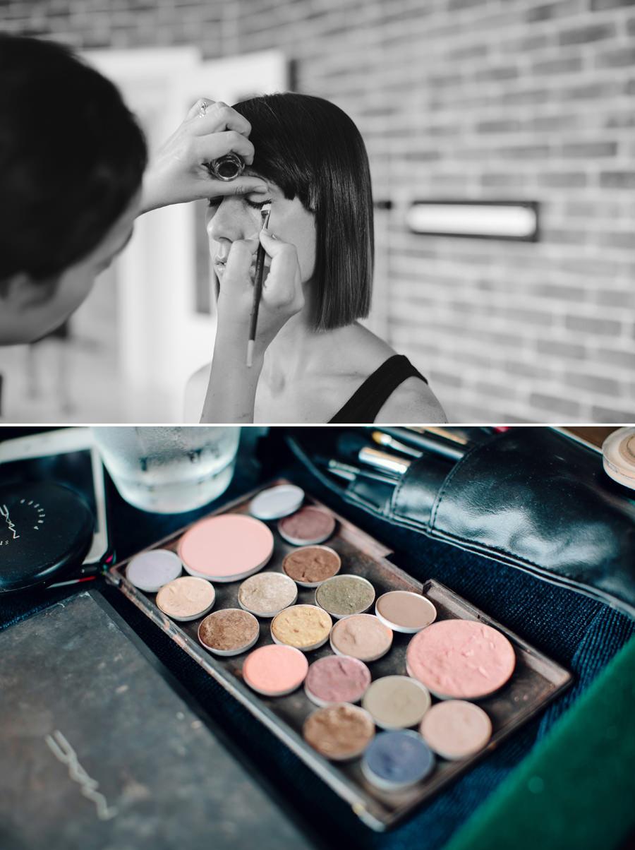 Alfords Point Wedding Photographer: Makeup