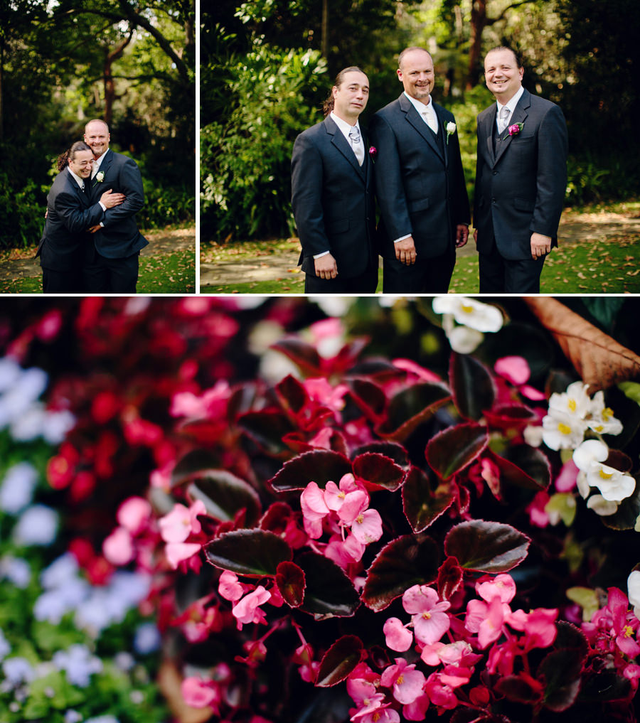Camellia Gardens Kirrawee Wedding Photographer: Groom & Groomsmen