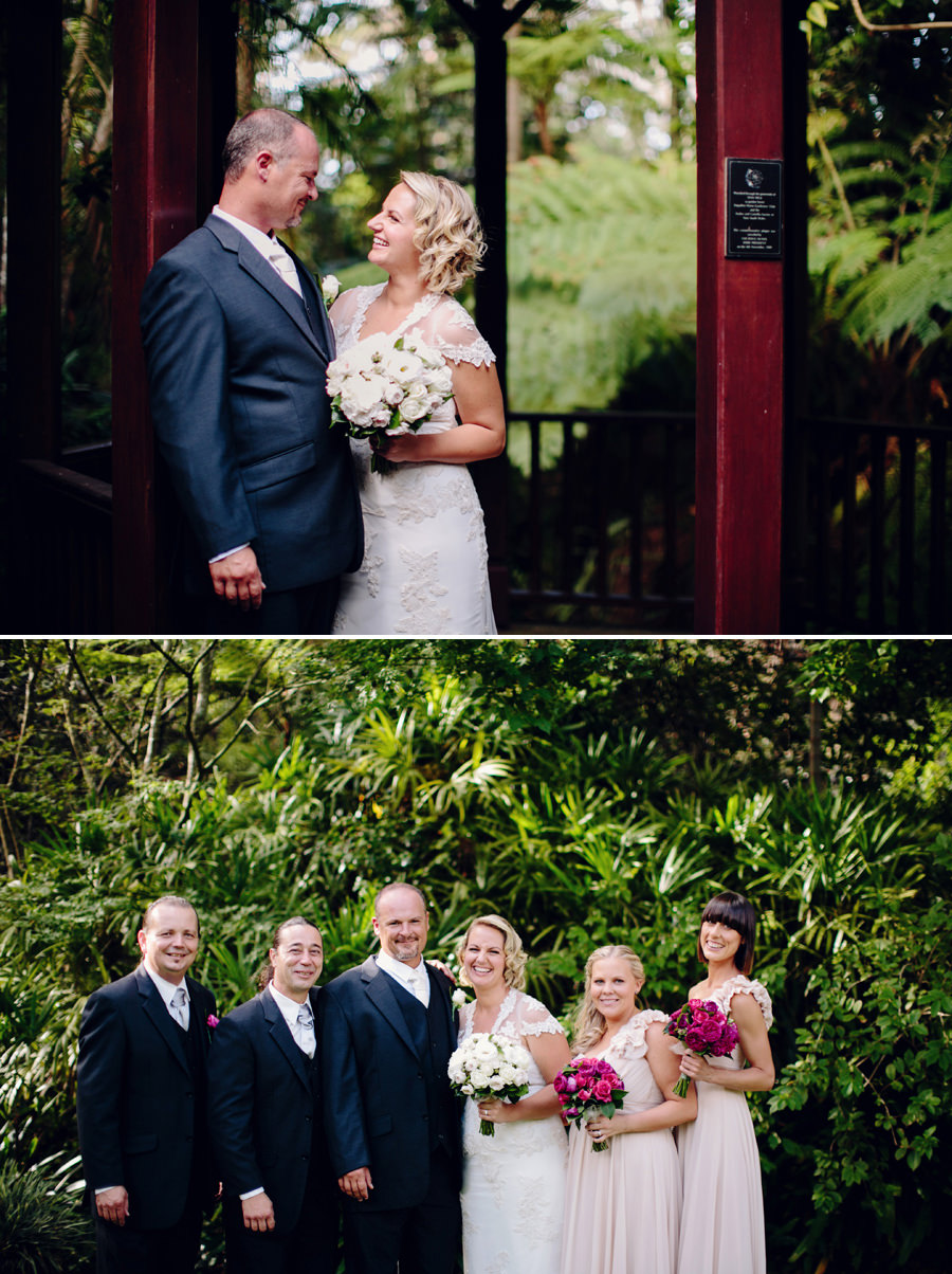 Camellia Gardens Wedding Photographer: Bridal party