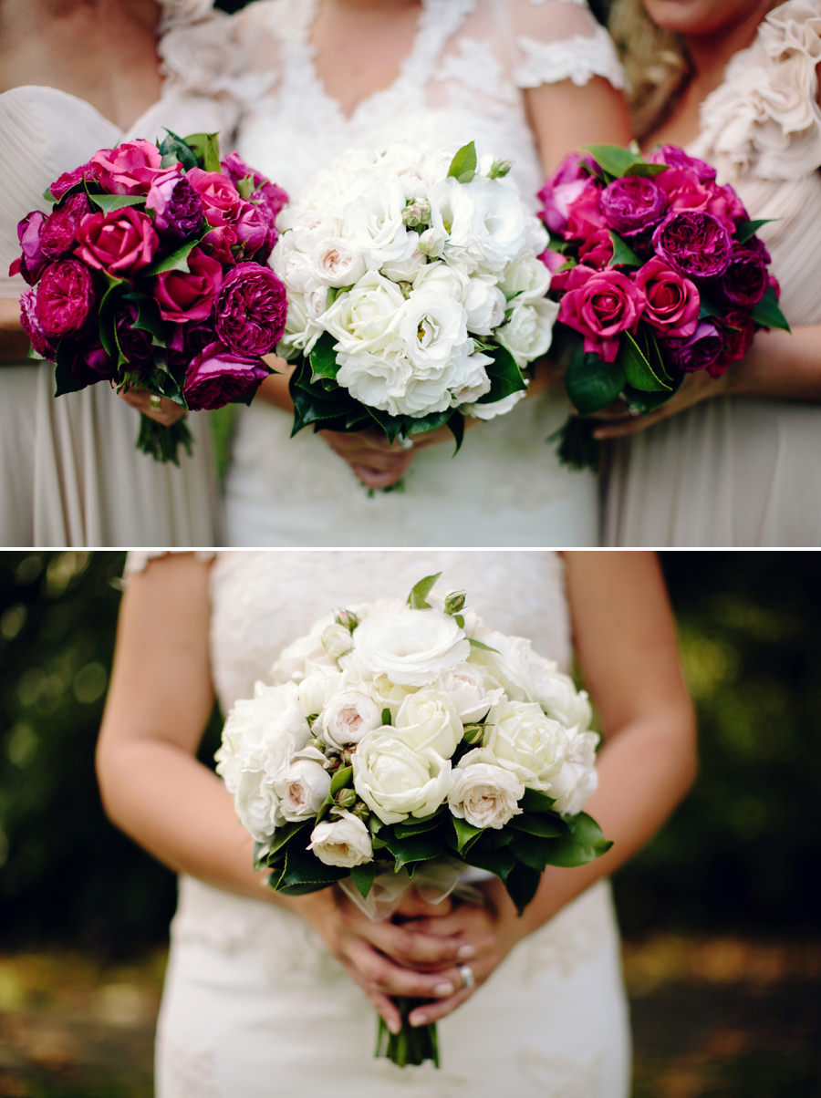 Camellia Gardens Wedding Photographers: Bouquets