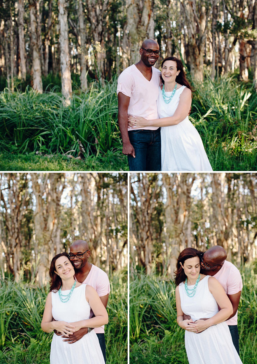 Centennial Park Engagement Photography: Bride & Groom