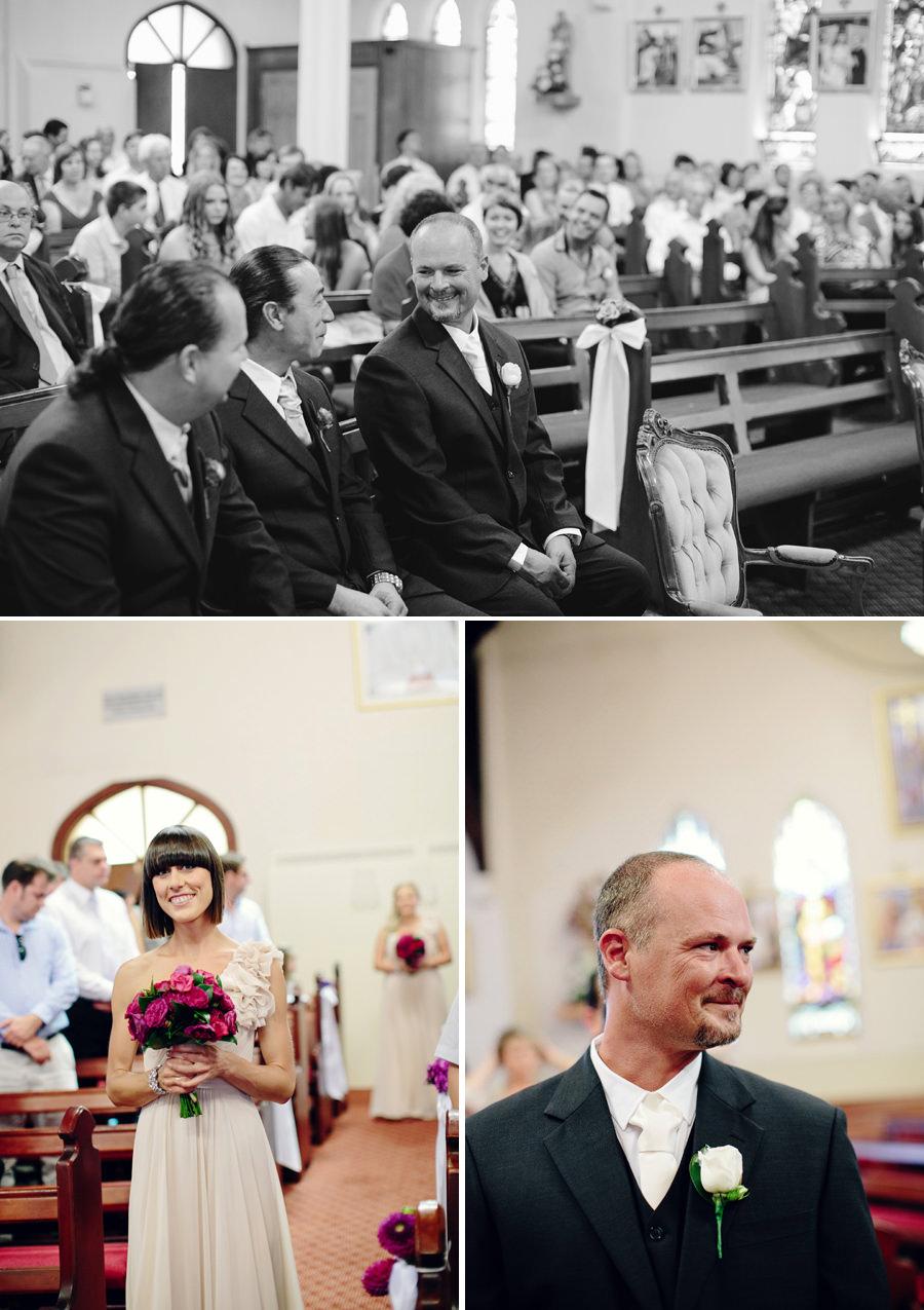 Croatian Wedding Photographers: Groom waiting for bride