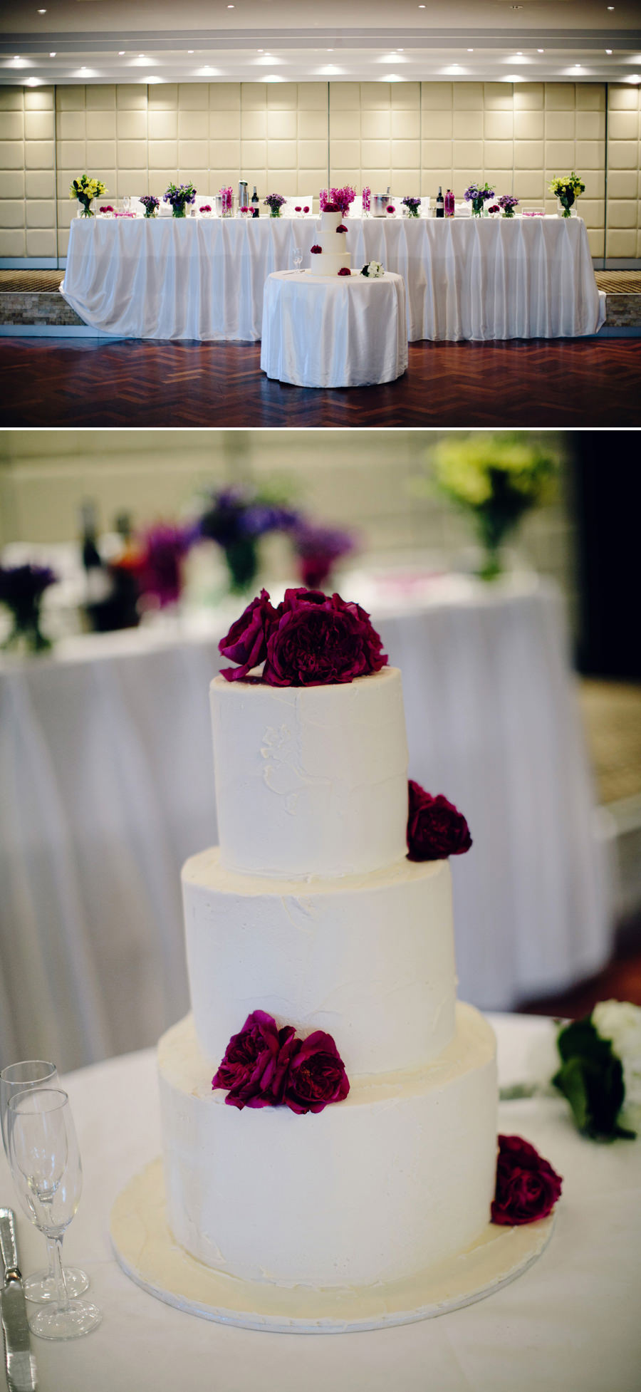 Doltone House Wedding Photographer: Bridal party table