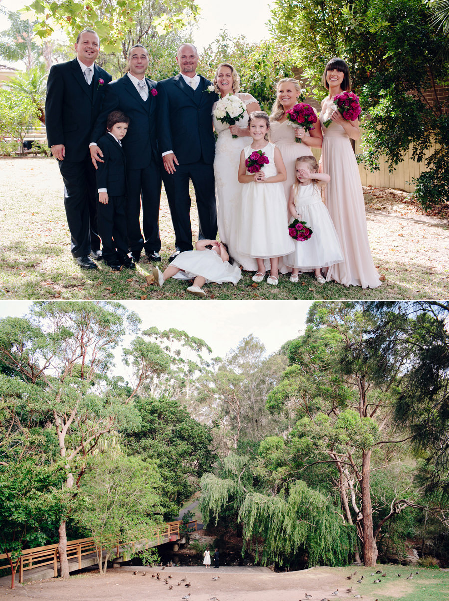 Kirrawee Wedding Photographer: Bridal party