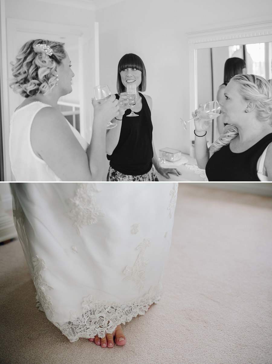 Sutherland Shire Wedding Photography: Bride getting ready