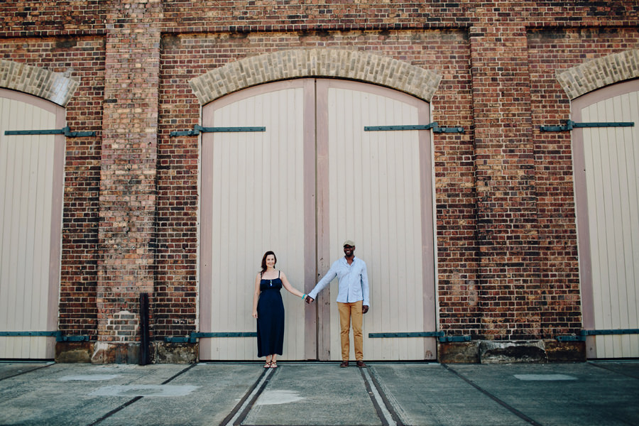 Sydney Wedding Photographer: Caterina & Ade at Carriageworks