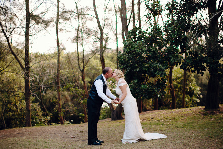 Sydney Wedding Photographers: Bride & Groom kissing