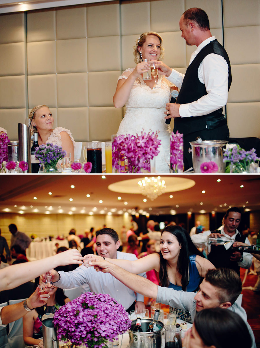 Sylvania Waters Doltone House Wedding Photographer: Reception