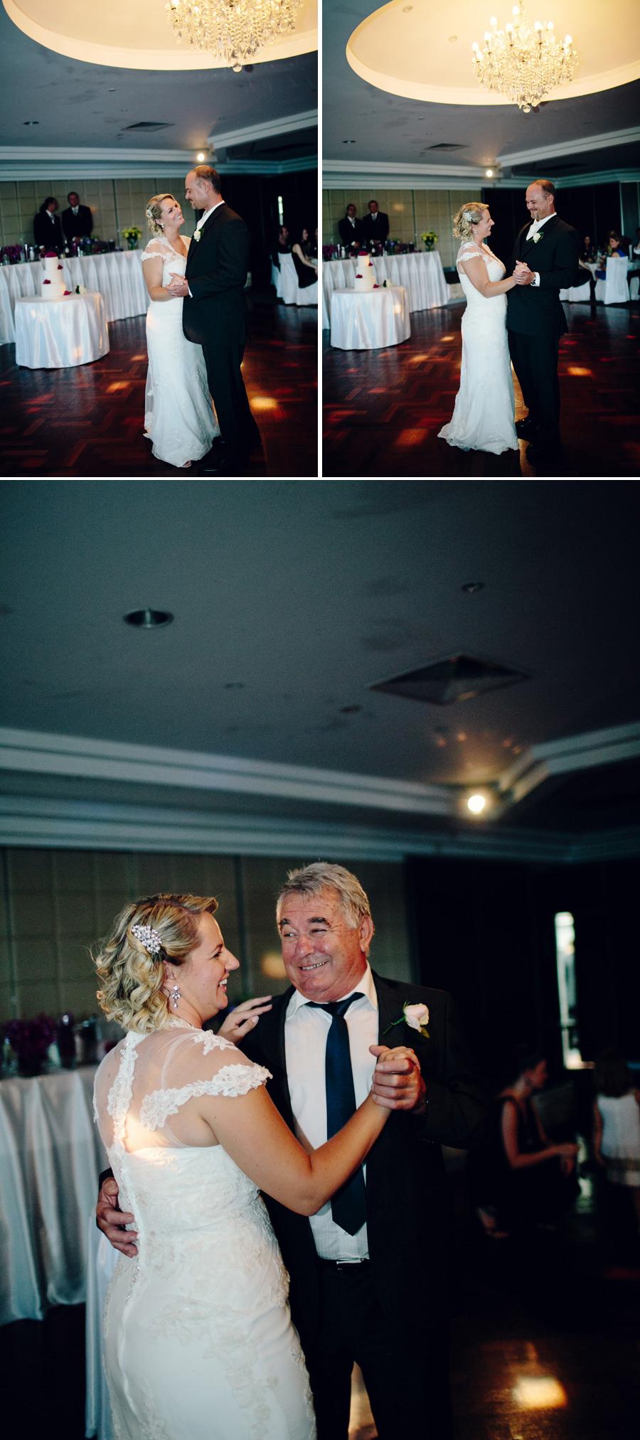 Sylvania Waters Wedding Photographer: Bridal waltz