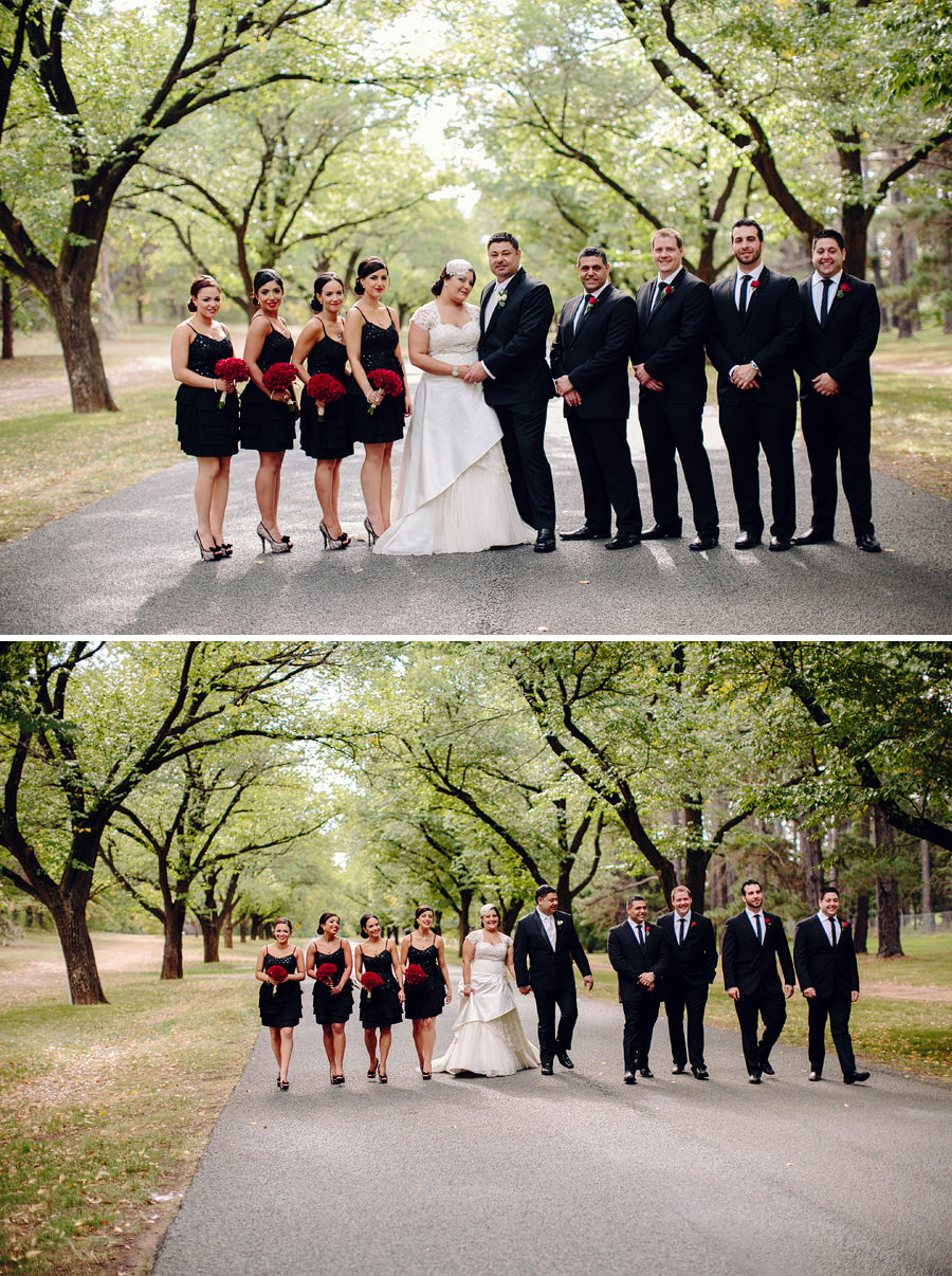 ACT Wedding Photographers: Bridal party