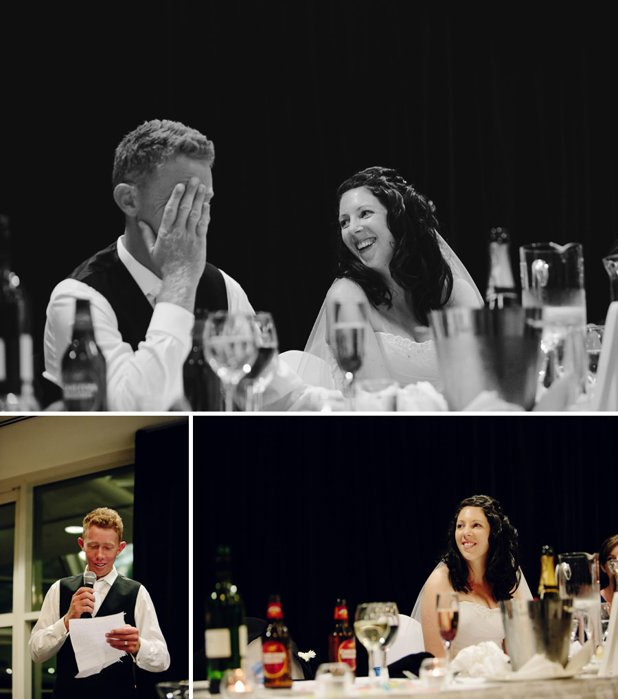 Alice Springs Convention Centre Wedding Photography: Speeches