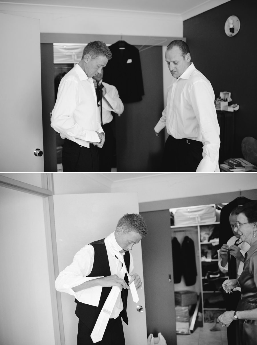Alice Springs Wedding Photographers: Boys getting ready
