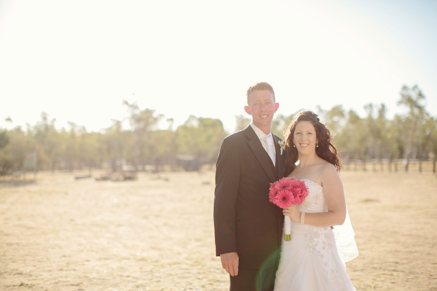 Alice Springs Wedding Photographers: Bride & Groom