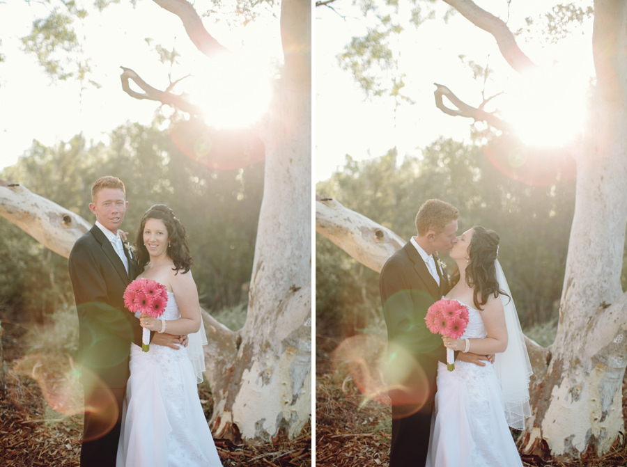 Alice Springs Wedding Photography: Sunset portraits