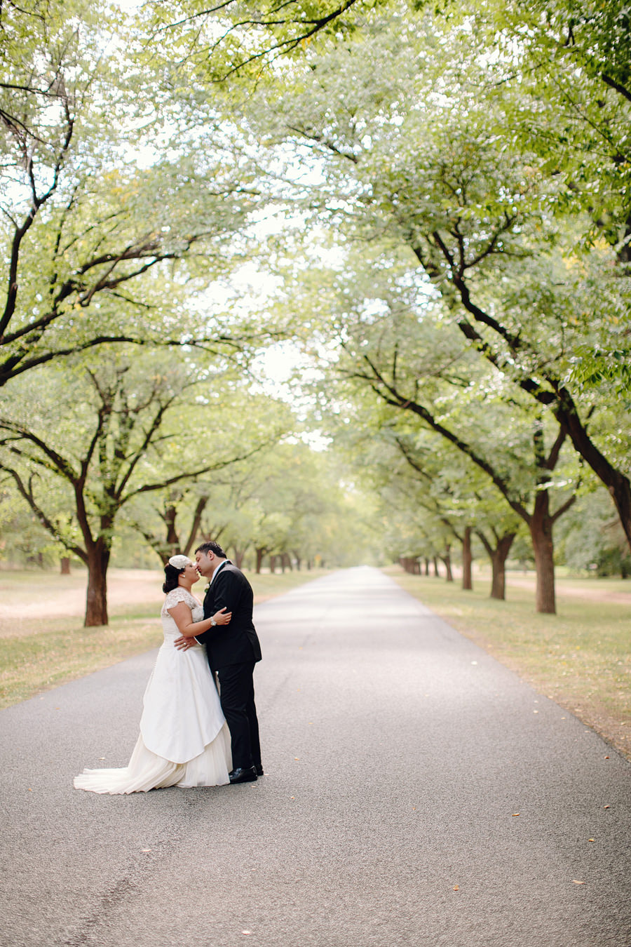 Canberra Wedding Photographer: Bride & Groom portrait