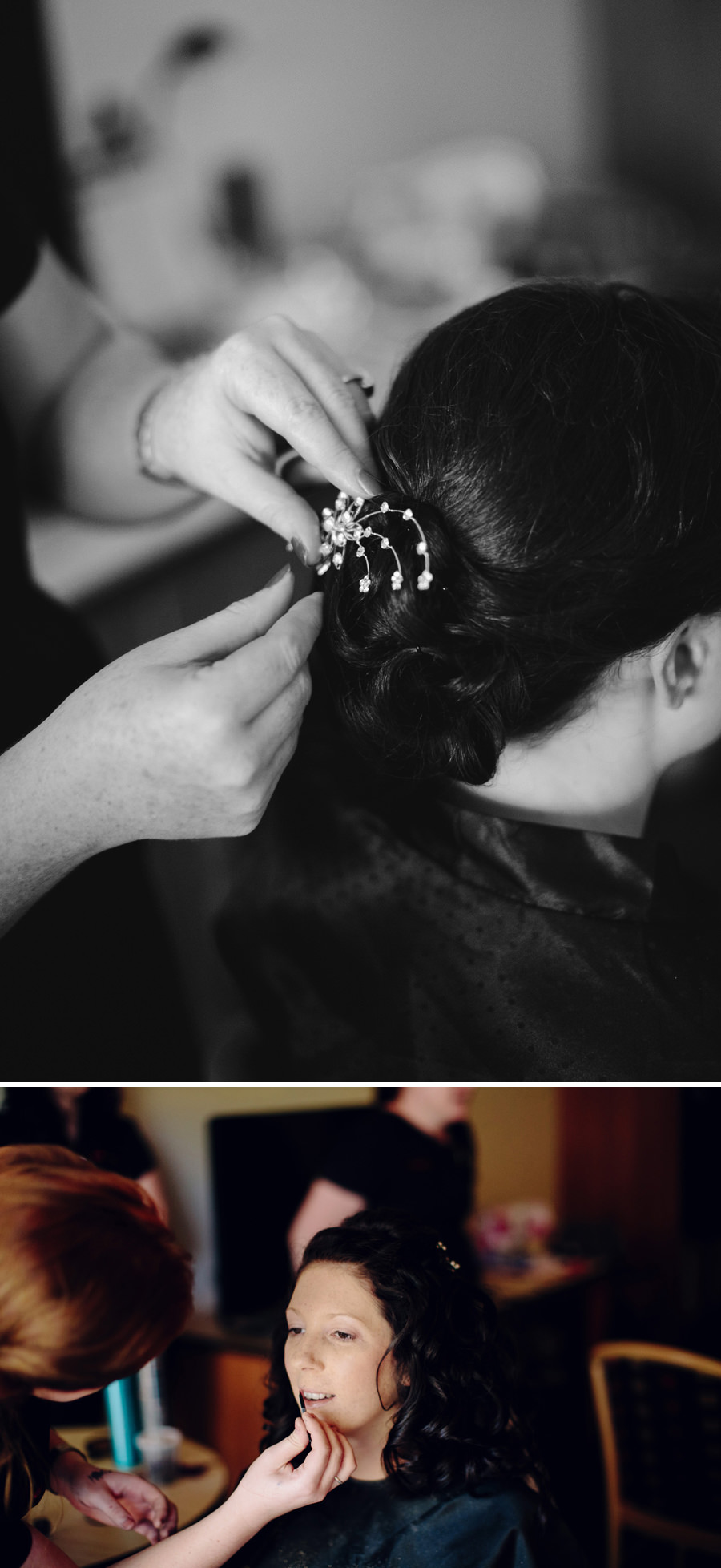 Chifley Resort Wedding Photography: Bride getting ready