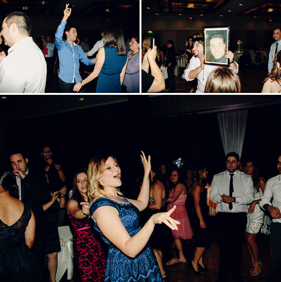 Contemporary Wedding Photographers: Party dancing